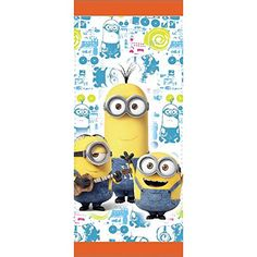 Wilton 19124600 16 Count Despicable Me Minions Treat Bags Yellow ** Check out @