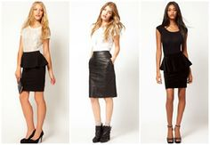 pencil skirts by Asos - My Top 10 Trends for Fall/Winter 2012-2013 - LisbonLove Blog