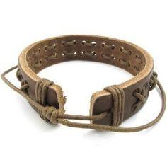 men's twisted leather bracelet diy - Google Search