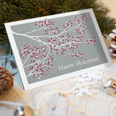 Berry Branch Card - Corporate Card