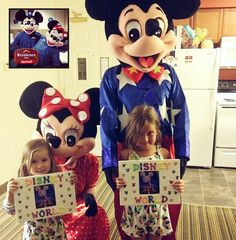 When one of the guests staying at our Residence Inn by Marriott Potomac Mills hotel had the idea to surprise their children with Disney tickets while dressed as Mickey and Minnie, our staff made it happen! ‪#‎PHR‬ ‪#‎Disney‬ ‪#‎WhereDreamsComeTrue‬