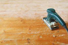 Wooden floor sanding with flat sander tool - Stock Photo , Wooden Flooring, Hampshire, Restoration, Woodworking, Stock Photos, Tools, Flat, Wood Flooring, Instruments