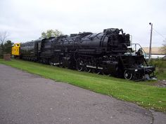 Duluth, Missabe and Iron Range Steam Locomotive. 2-8-8-4 Mallet, the largest single unit traction power ever built. These locos carried the iron ore that became the steel that built America.