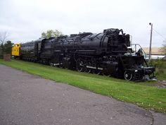 Duluth, Missabe and Iron Range Steam Locomotive.
