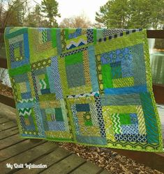 These are pictured in order from the most recent.  Just click on the name of the quilt to see the original blog post!            2016    ...