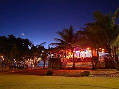 The Beach Bar & Grill at Gun Beach, Guam.