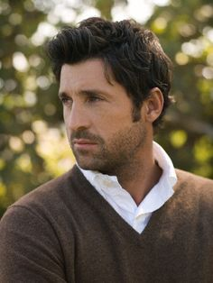 Patrick Dempsey - every time I try to break up our fake relationship, you look like this- sigh