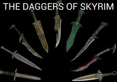 The ultimate weapons for an assassin/thief