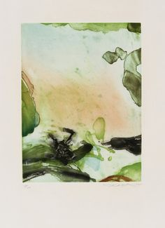 Zao Wou-Ki, Untitled 265, Aquatint Etching, 1975
