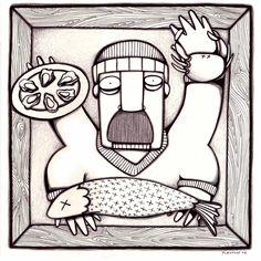 Ilustrared - @pleytonp - BLANCO&NEGRO - Le poissonier [2006]