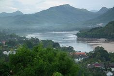 12) The Mekong is a river in Southeast Asia. It is the world's 12th-longest river and the 7th-longest in Asia. Its estimated length is 4,350 km (2,703 mi), and it drains an area of 795,000 km2 (307,000 sq mi), discharging 475 km3 (114 cu mi) of water annually.