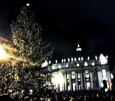 Noel at S.Peter place, my lovely Rome ♥