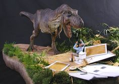 Just thought I could share that awesome maquette with you :-) It's an horizon original T-Rex model, made from the original SWS molds and modificated by Mike Wallace. T Rex Jurassic Park, Jurassic Park Poster, Jurassic Park Series, Jurassic World Dinosaurs, Jurassic Park World, Jurassic World Fallen Kingdom, Dinosaur Art, Prehistoric Creatures, Cultura Pop