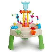 Superb Little Tikes Fountain Factory Water Table Now at Smyths Toys UK. Shop for Little Tikes Outdoor At Great Prices. Free Home Delivery for orders over Best Water Table, Water Table Toy, Toddler Water Table, Sand And Water Table, Water Activity Table, Water Toys, Water Play, Water Games, Outdoor Toys