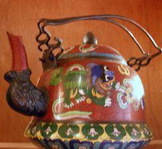 mongolian tea pot