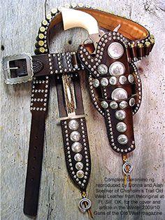 Copy of Geronimo's gun rig.