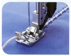 Couching/Braiding Foot for PFAFF machines with codes B, C, D, E, F, G, J with IDT