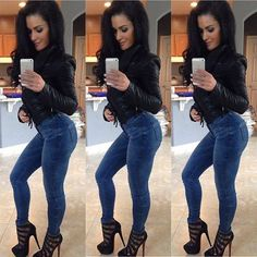 girls in tight jeans 6 These jeans never stood a chance (35 Photos)