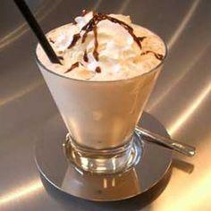 Batido de Café con Jarabe de Chocolate