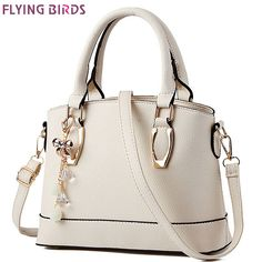 $37.72 (Buy here: https://alitems.com/g/1e8d114494ebda23ff8b16525dc3e8/?i=5&ulp=https%3A%2F%2Fwww.aliexpress.com%2Fitem%2FFLYING-BIRDS-2012-bags-casual-backpack-colorful-canvas-shoulder-bag-school-bag-HL20%2F662782542.html ) FLYING BIRDS! women messenger bags cross body women's tote women leather handbag of famous brands shoulder bag bolsos LM3322fb for just $37.72