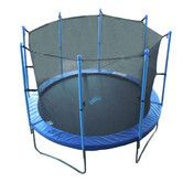 Mommy & Daddy have checked this off their list! Found it at Wayfair Supply - 10' Trampoline with Enclosure
