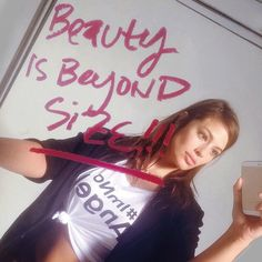 Beauty is beyond #size #lovemybody #sexyismysize