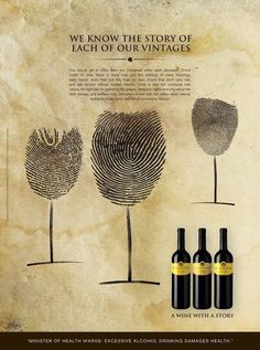 Vintage Wine 20 Creative Wine Ads That Takes Print Ads To A New Level - Check out these 20 Creative Wine Ads That Takes Print Ads To A New Level. Visit Ateriet for more great food ads and food culture. Wine Advertising, Creative Advertising, Advertising Campaign, Ads Creative, Speisenkarten Designs, Poster Designs, Wein Poster, Wine Tattoo, Wine Making Kits