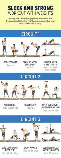 Circuit Workout With Weights | POPSUGAR Fitness