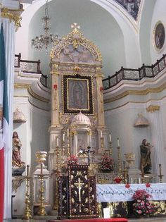 Puerto Vallarta, Mexico: Interior of Our lady of Guadalupe Cathedral.