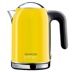 Just bought this lovely kettle for our kitchen... Kenwood KMix Yellow Kettle.