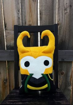Loki pillow, avengers, plush, cushion, gift by telahmarie on Etsy