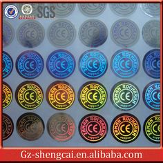 OEM Anti-counterfeiting sticker/hologram sticker/warranty sticker