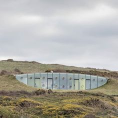 Malator the buried design allowed the building to be approved within a National Park. Architect: Future Systems. Druidston Haven Pembrokeshire.#ukcoastwalk Photo: Quintin Lake www.theperimeter.uk