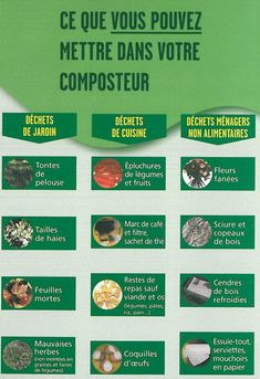 Faire Son Compost, Potager Bio, Learn French, Horticulture, Garden Plants, Outdoor Gardens, The Cure, Nature, How To Plan