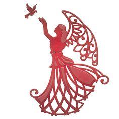 Spellbinders Shapeabilities Die D-Lites - Angel Of Peace ...