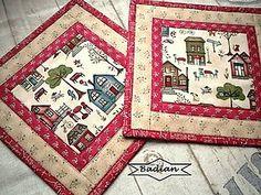 Úžitkový textil - Around Town ... No.2    ( 2 ks ) - 4926004_