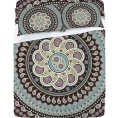 Belle13 Mandala Paisley Sheet Set