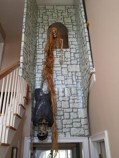Rapunzel prop... what a great party entrance this would make!