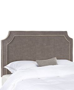 Corinth Upholstered Queen Headboard, Direct Ship   macs.com