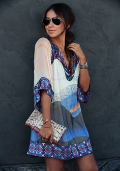#SoDVF dress on #Sincerelyjules