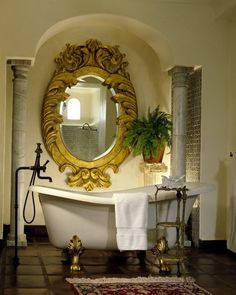 Hacienda del Angel - gorgeous framed mirror