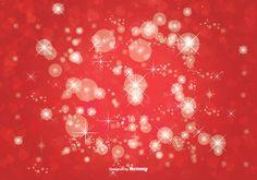 Bokeh Glitter Background Illustration
