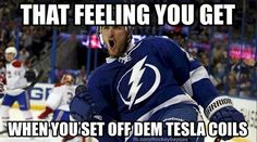 Yes!  Love my Tampa Bay Lightning. Go Bolts.