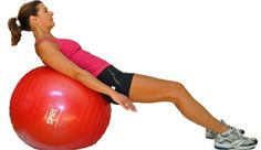 Beginner Lower Body Workout - Simple Moves for a Strong Lower Body: Leg Press on Ball (Glutes/Hips/Thighs)