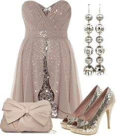 polyvore outfits | OUTFITS / Shimmery Sequins by qtpiekelso liked onPolyvore