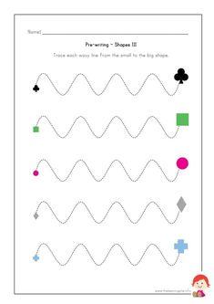 Graphisme Moyenne Section Les vagues – Le serpent (avec ...