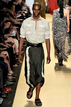AfroCcentric Fashion Blogs: Menswear: Michael Kors' African Inspired Collection