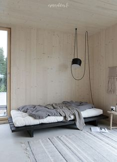 Minimalist Home Interior .Minimalist Home Interior Plywood Interior, Plywood Walls, Living Room Decor, Bedroom Decor, Master Bedroom, Decoration Ikea, New Interior Design, Interior Shop, Interior Livingroom