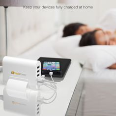 Awesome 5 Port USB Charger from SecuPower in white. Only on Amazon :)  http://www.amazon.com/SecuPower-Port-Charge-iPhone-Android/dp/B017MV9TPQ