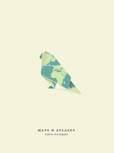 Maps & Atlases gig poster